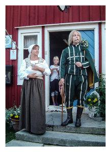 Michael Helgesson under dramavisning i Kristianopel