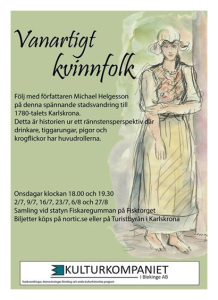 Affisch, Vanartigt kvinnfolk